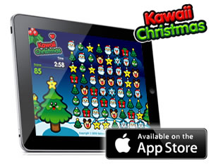 Kawaii Christmas iPad